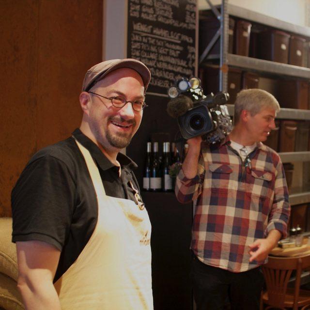 Benson Coffee, Benjamin Pozsgai bei der WDR Lokalzeit