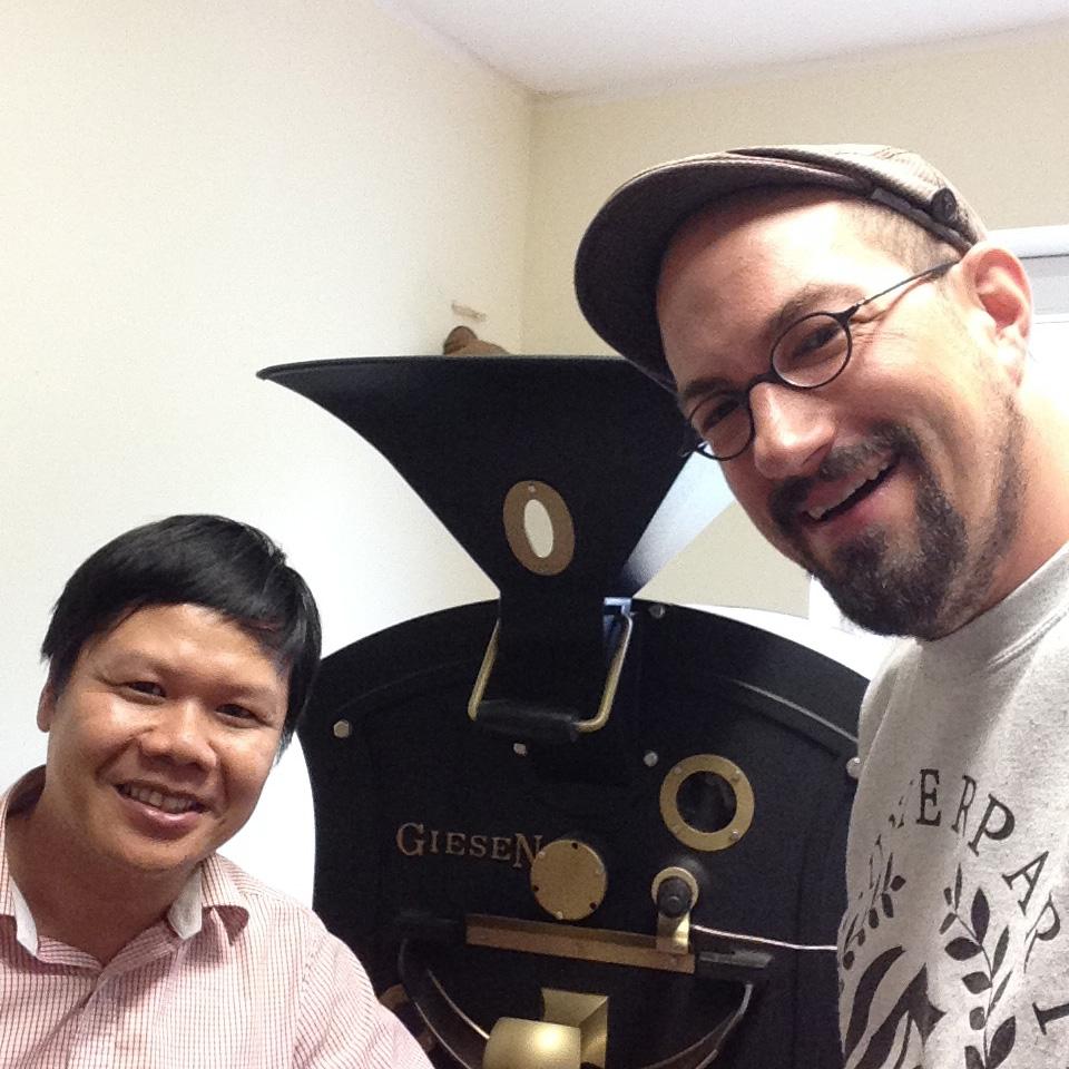 Duc Dung Nguyen von Caphe House und Benjamin Pozsgai / Benson Coffee
