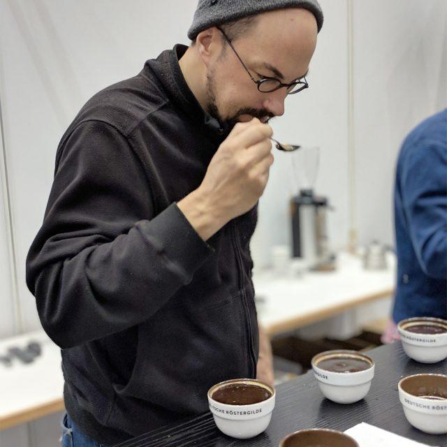 Cupping Benson Coffee