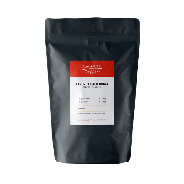 Fazenda California – Brazil / Espresso