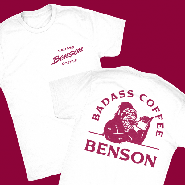 Benson – Badass Coffee Shirt
