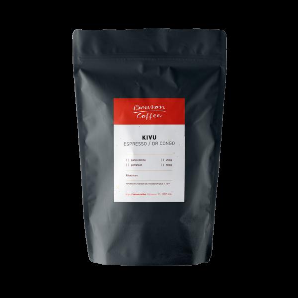 Benson Coffee – Kivu – Espresso / Congo
