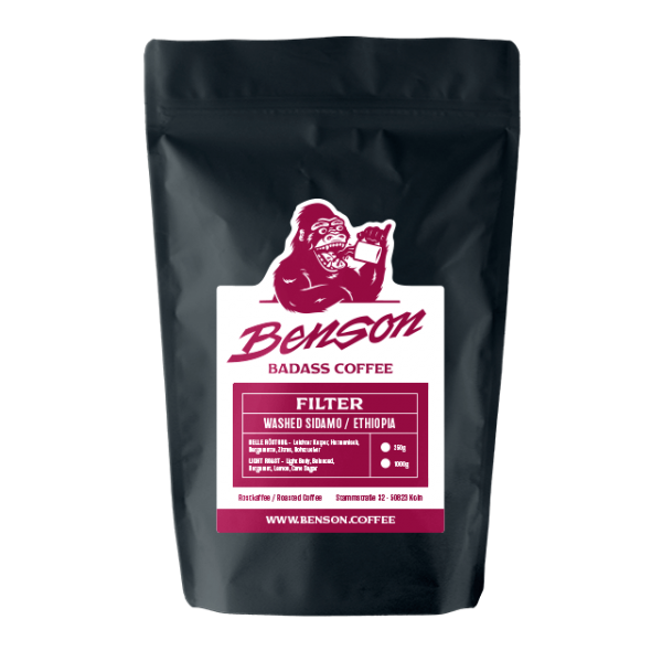 Benson Badass Coffee – Washed Sidamo / Filter