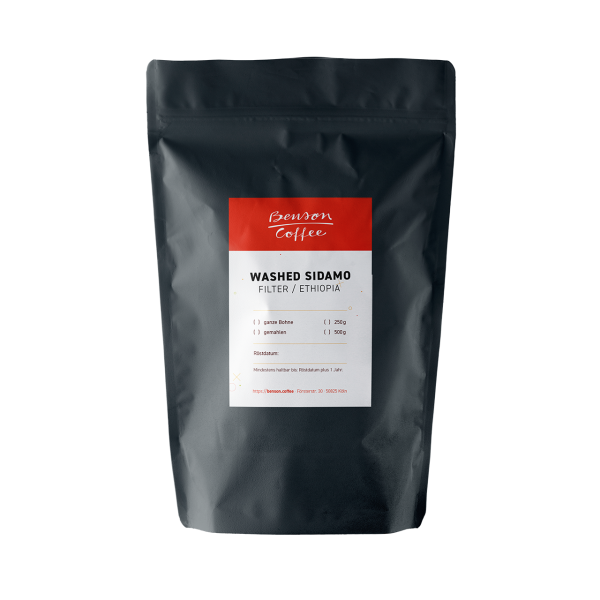 Benson Coffee – Washed Sidamo / Filter, Ethiopia
