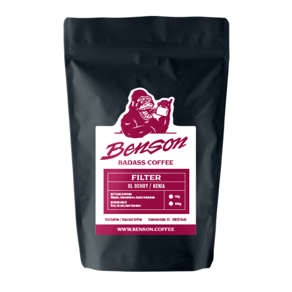Benson Coffee – Ol Ochoy / Kenia – Filter