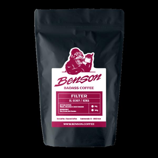 Benson Coffee – Ol Ochoy / Kenia – Filter