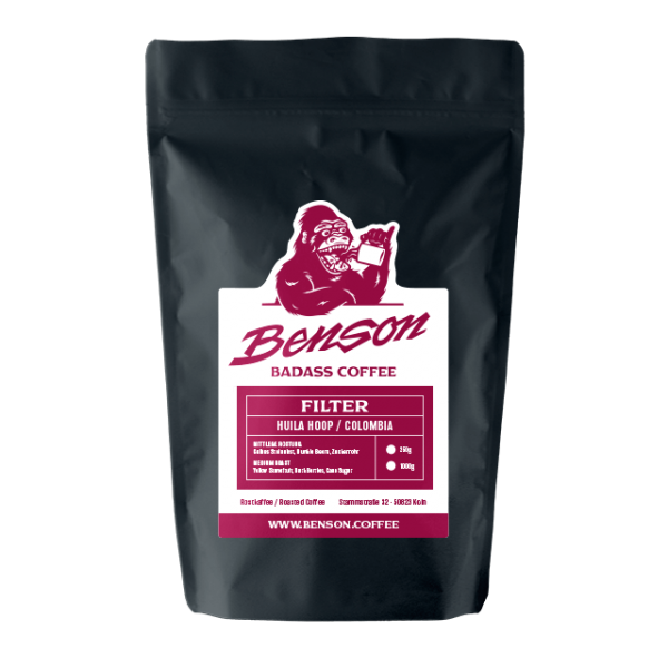 Benson Coffee – Huila Hoop – Filter