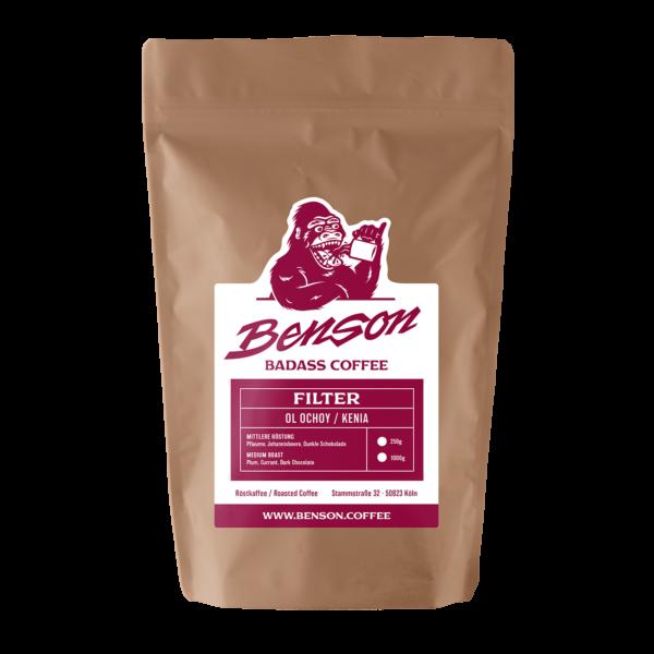 Benson Coffee – Ol Ochoy – Filter – Kenia