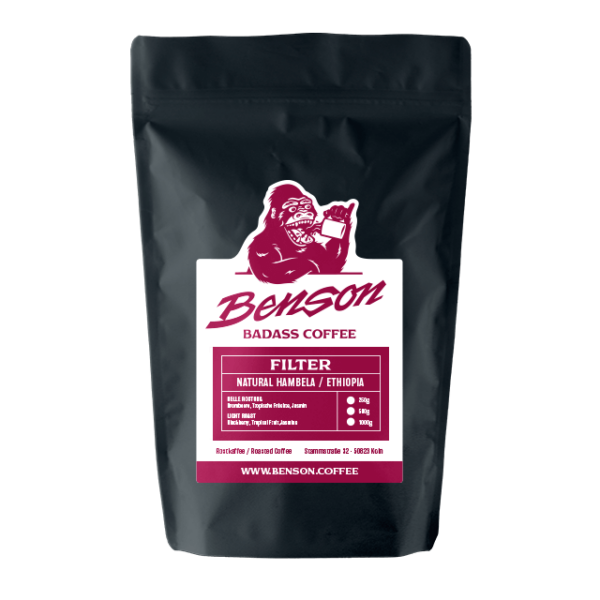 Ethiopia Natural Hambela – Filter – Benson Badass Coffee