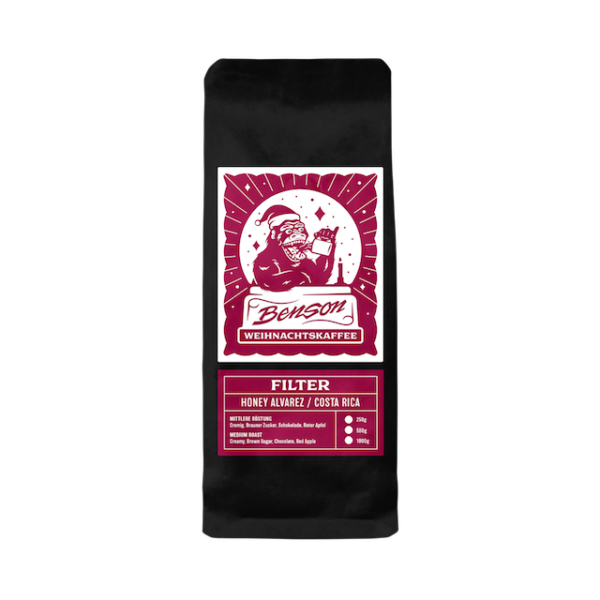 Benson Coffee – Weihnachtskaffee – Filter