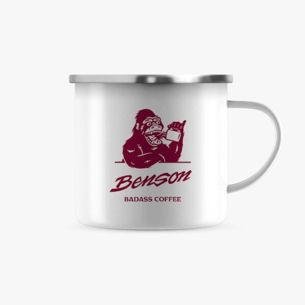 Benson Coffee - Tasse, Emaille – Vorderseite