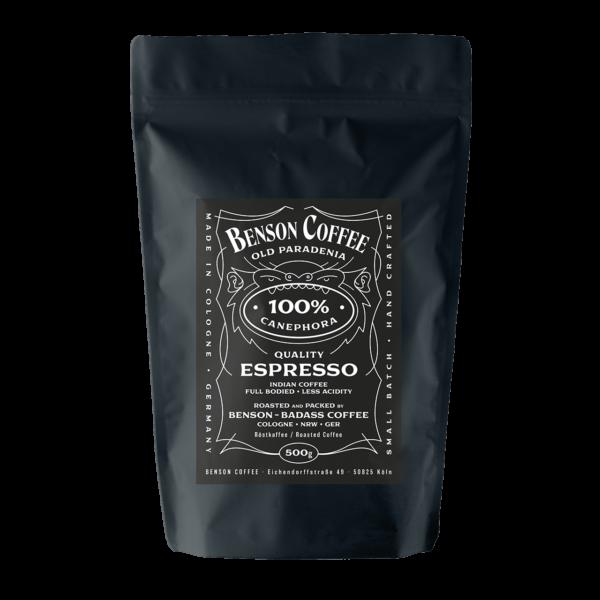 Benson Coffee – Espresso – 100% Canephora