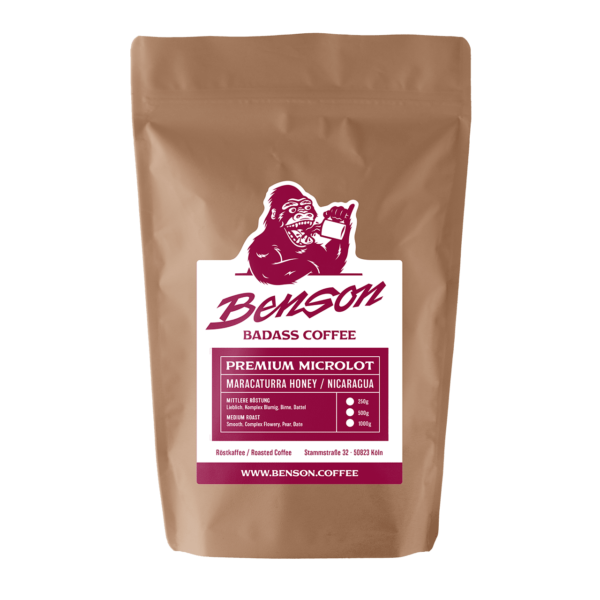 Benson Coffee – Maracaturra Honey / Nicaragua / Premium Microlot